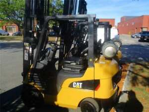 chariot lvateur Caterpillar 5000 model 2C5000 forklift 2012 indoor/outdoor lift liquidation avec S/S on sale