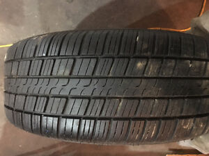 Selling 4 205/55r16 tires with rims