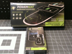 New PowerMat and Blackberry receiver
