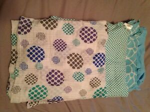 Cotton swaddle blankets