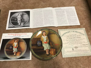 ESTATE SALE - Norman Rockwell collector plates - set of  8