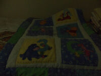 winnie the pooh comforter for crib or toddler bed