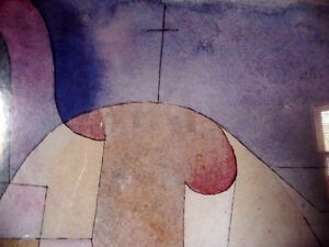 """Lithograph by Paul Klee """"Black Columns In A Landscape"""" 1919 Stratford Kitchener Area image 4"""