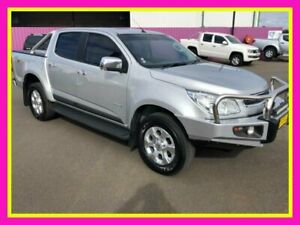 2014 Holden Colorado RG MY14 LTZ (4x4) Silver 6 Speed Automatic Crew Cab Pickup Dubbo Dubbo Area Preview