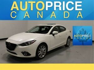 2015 Mazda Mazda3 GT GT|LEATHER|NAVI|HEADS UP|MOONROOF|LUXURY...