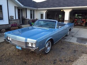 50th birthday- 1966 Lincoln Continental Convertible