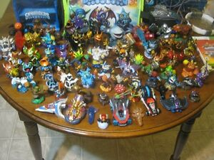 Various Skylander characters and asessories for xbox
