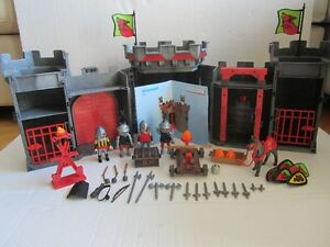 Playmobil Take Along Knights Castle –100% Complete! German Made!