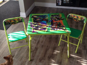 Ninja turtle table