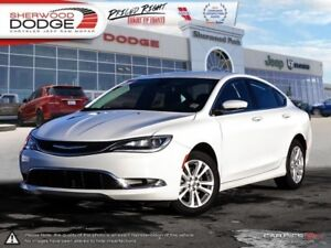 2015 Chrysler 200 Limited  LEATHER   HEATED SEATS   BLUETOOTH