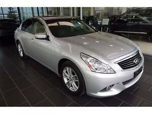 2013 Infiniti G37X Luxury 4 door sedan 20,000KM CALGARY