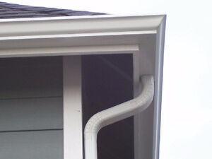 Siding, soffit, fascia, eavestrough & gutter guard installation.