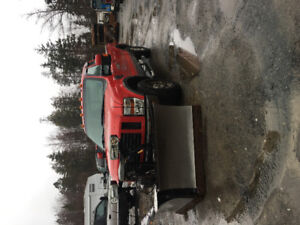 2008 Ford F-250 6.4 diesel with plow