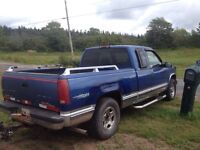 1997 gmc with plow