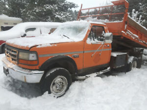 1997 FORD 350 4X4 1 TON DUALLY $1650.00