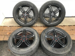 "Audi/VW 17"" Mags with 215/55/17 Summer Tires"