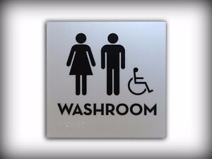 Braille and Tactile ADA / ADOA Custom Designed Signs Kitchener / Waterloo Kitchener Area image 3