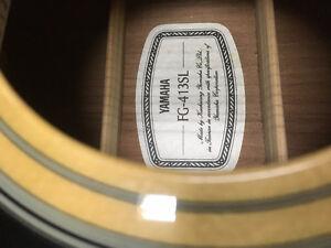Yamaha Acoustic Guitar Cambridge Kitchener Area image 2