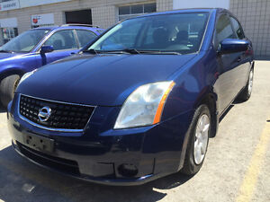 2009 Nissan Sentra Sedan Comes Safety E-Tested