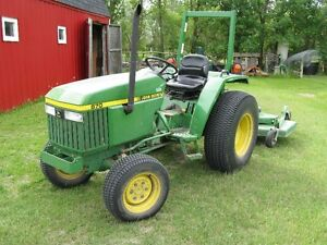 Compact Utility Tractor and implements