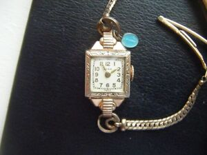 Ladies CYMA and Timex watches