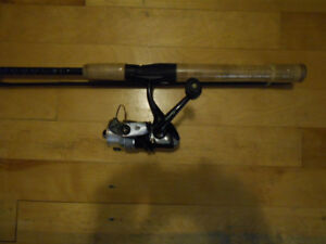 Canne moulinet neuf 5 bearings, Fishing rod and reel