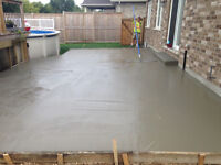 Concrete, water drainage, foundation repairs