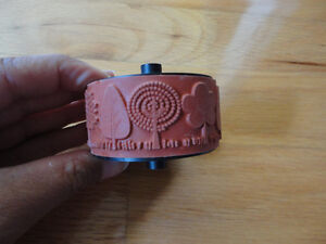 STAMPIN UP WHEEL FUNKY FOREST RUBBER STAMP London Ontario image 1