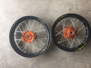 NEW RIMS FOR KTM 50 SX