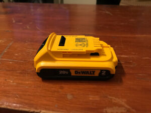 New DEWALT Battery and charger