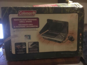 Coleman Matchlight Propane Camp Stove