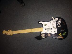 Rockband Fender Stratocaster w/ Rockband 2 PS3