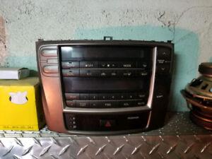 Radio control chaufage lexus 2006-2012 is250 is350 es300 es350