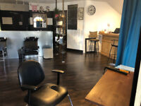 HAIR STYLIST CHAIR FOR RENT IN BEAUTY SALON