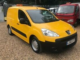 PEUGEOT PARTNER BERLINGO HDI S L1 625 White Manual Diesel, 2010