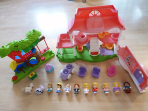 Fisher Price Little People maison et parc / house and park