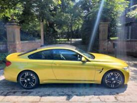 image for 16 PLATE BMW M4 DCT COUPE 11,046 MILES AUSTIN YELLOW HEADS UP DISPLAY H&K SUPERB