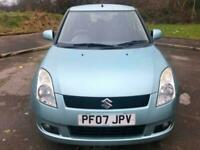 2007 Blue Suzuki Swift 1.5 GLX 5 Dr Hatch 75K Cheap To Tax And Insure! Great Car