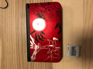 Nintendo 3ds xl pokemon edition RED