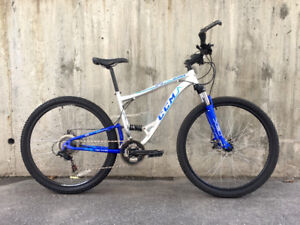 29er MTB w/disc brakes and upgrades, ultimate winter bike!