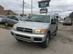 *CERTIFIED*2YRS WARRANTY*2003 Nissan Pathfinder Chilkoot Edition