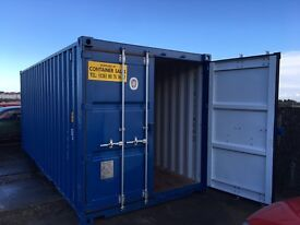 Self storage container's £15 pw