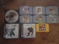 N64 and PLAYSTATION 1 GAMES FOR SALE