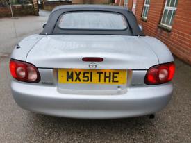 """Mazda MX5 1.8, """"MX5 1THE"""" Private Reg! Mk2 Roadster Classic car!"""