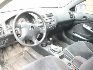 2001 Honda Civic Coupé (2 portes) SI-G 1.7L Saguenay Saguenay-Lac-Saint-Jean image 4