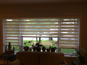 Stores de tissue haute qualité / High quality window coverings