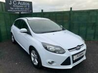 2011 FORD FOCUS ZETEC 1.6 TDCi 54087 MILES AND ONLY £20 ROAD TAX