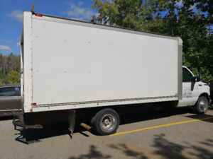 2003 FORD E-450 DIESEL 16 ft CUBE TRUCK for SALE!!!!!!!!!