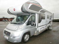 2008 Burstner Argos 747-2 7 Berth Rear Bed Large Garage Motorhome For Sale 13657