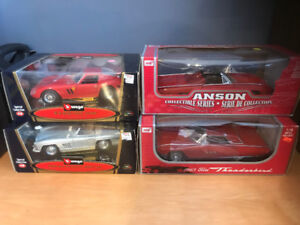 25 Year Old Collection of 1/18 Diecast Cars!